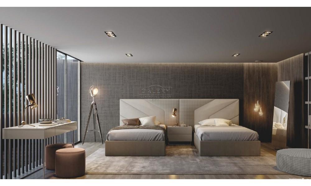 Dormitorio Elen camas separadas