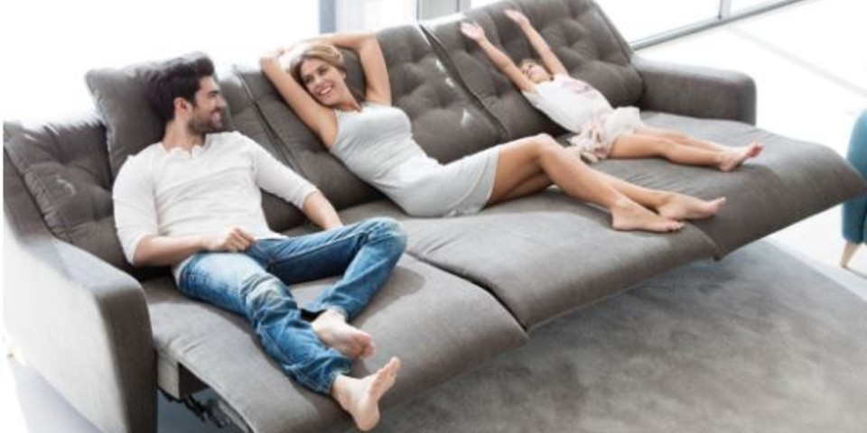 Sofas relax y deslizantes